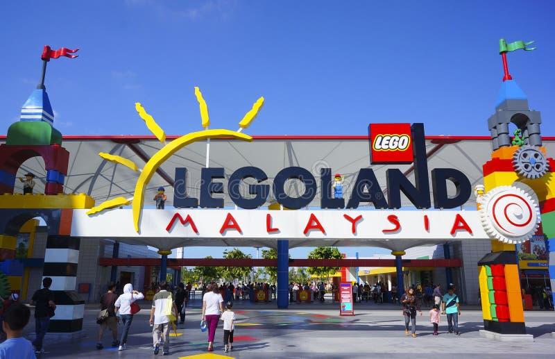 Legoland Malaysia arkivbilder