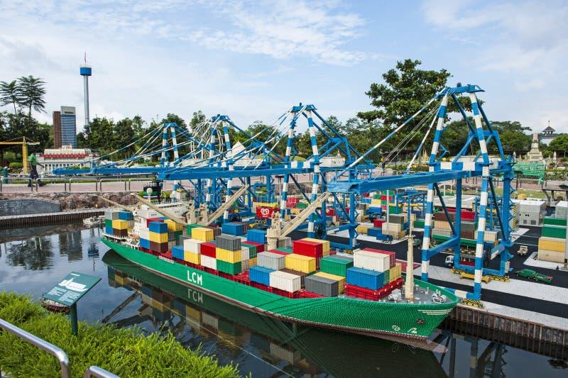 Legoland Malaysia lizenzfreie stockbilder