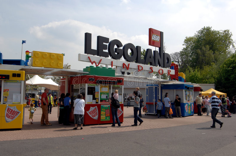 Legoland Windsor stockfotografie