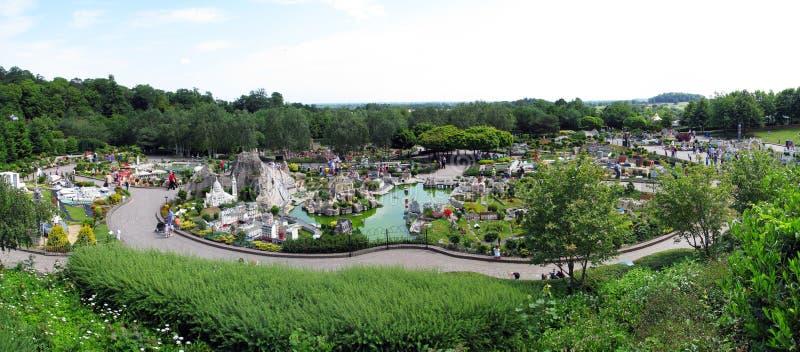Legoland Windsor - miniland fotografie stock libere da diritti