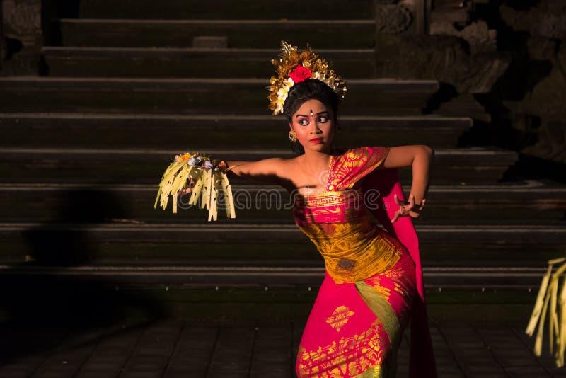 Legong Dance, Bali, Indonesia. Bali, Indonesia - June 9, 2017 - Legong dance, Balinese traditional dance in Ubud stock images
