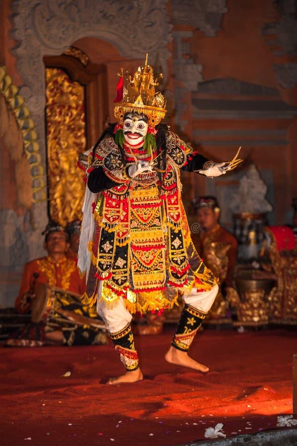 Legong traditional Balinese dance in Ubud, Bali stock photo