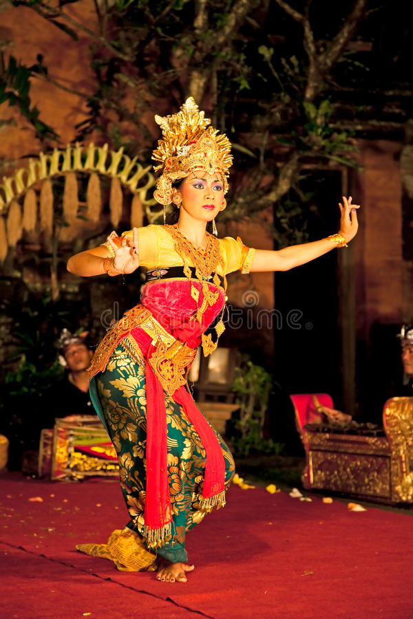 Legong Trance & Paradise Dance, Bali , Indonesia. Legong Trance & Paradise Dance venue Ubud Palace. Ubud is the home of traditional culture in Bali. Indonesia royalty free stock images
