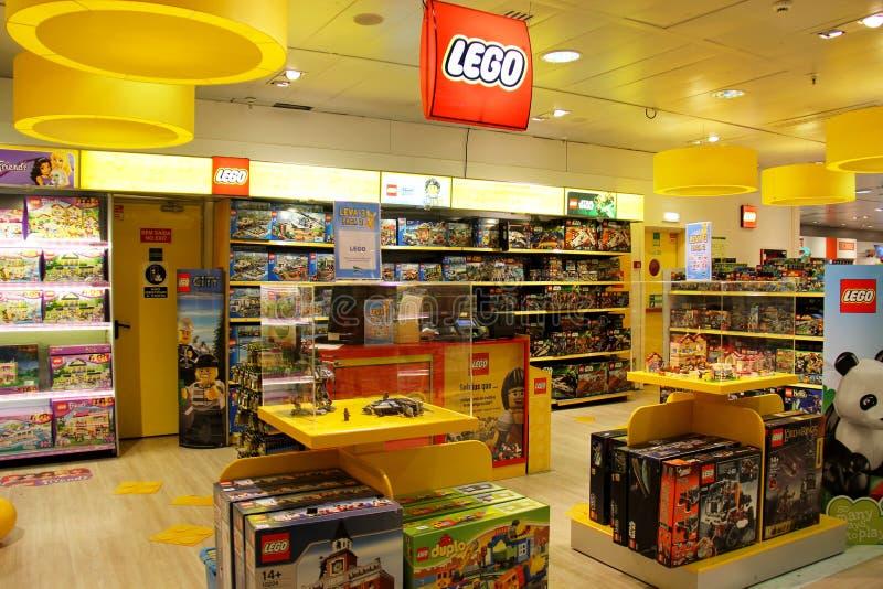 Legoopslag stock afbeelding