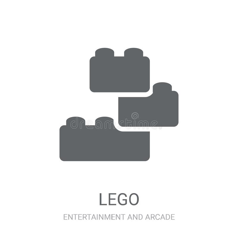 Legopictogram  royalty-vrije illustratie