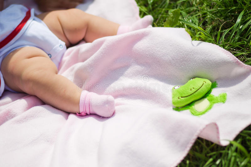 Download Legs of a baby stock photo. Image of life, baby, summer - 33197012