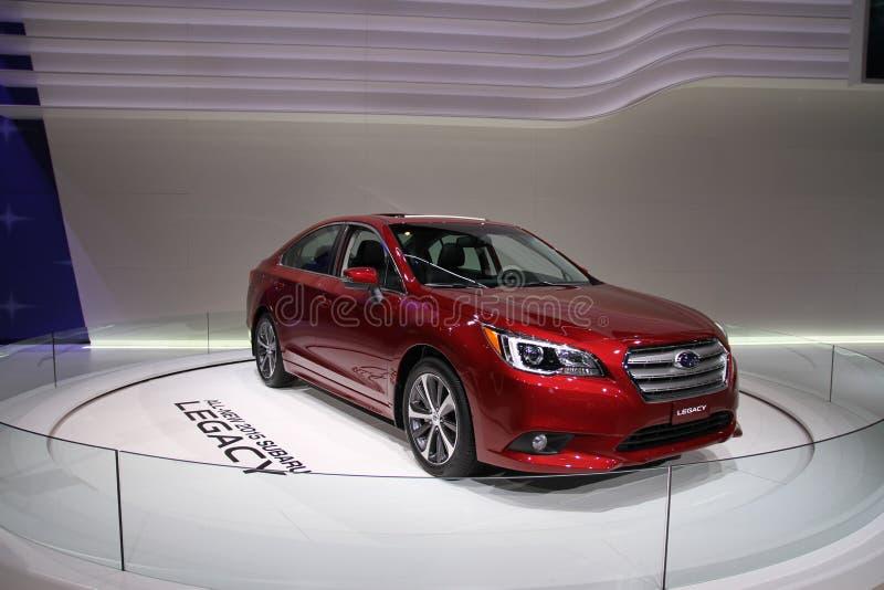 Legs 2015 de Subaru image libre de droits