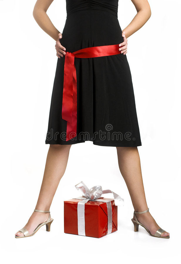 Download Legs and Gifts stock image. Image of beauty, fashion, modelling - 1950197