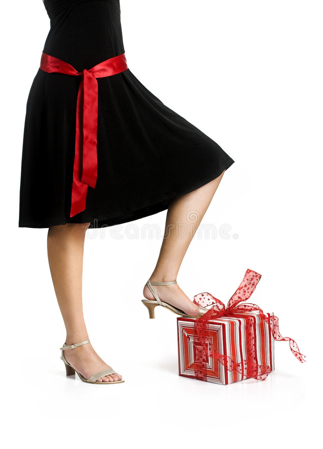 Download Legs and Gifts stock image. Image of pose, legs, cheesy - 1950255