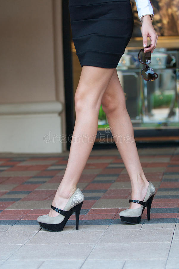 Download Legs And High Heels Royalty Free Stock Photos - Image: 26678888