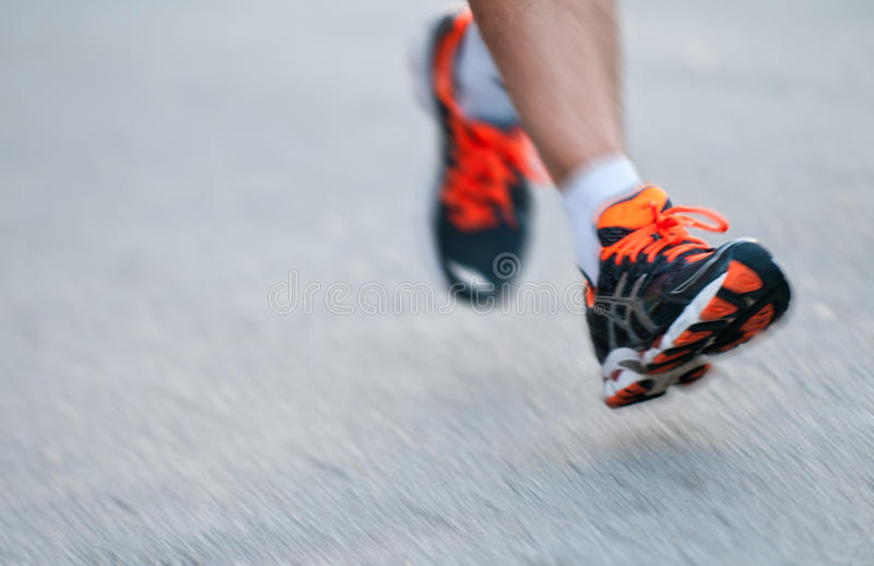 Legs In Motion Royalty Free Stock Photos