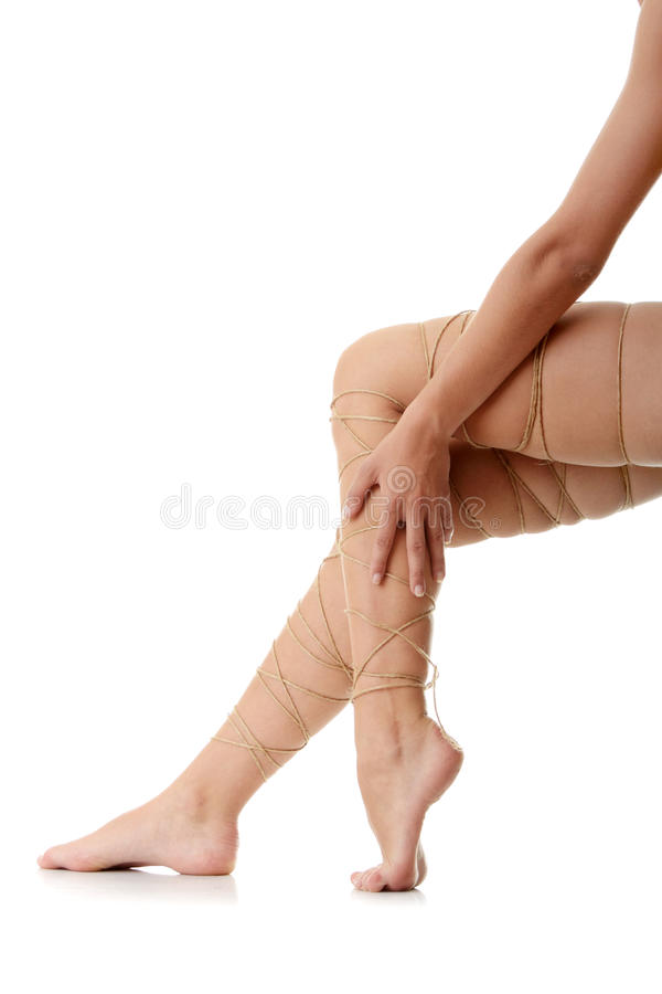 Legs pain concept royalty free stock image
