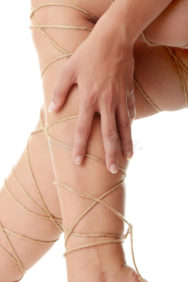 Legs pain concept royalty free stock photography