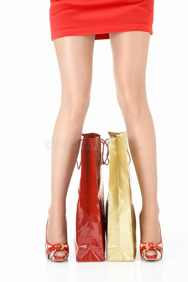 Download Legs and purchases stock image. Image of heels, sensuality - 10193281