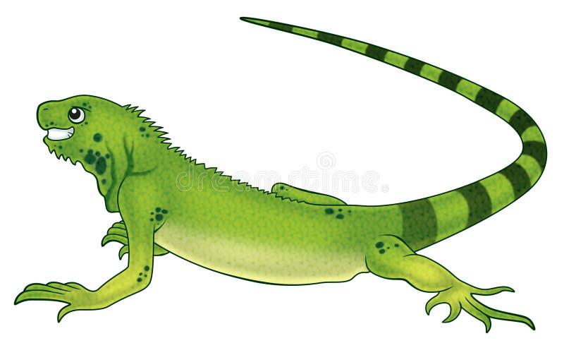 Leguaan vector illustratie