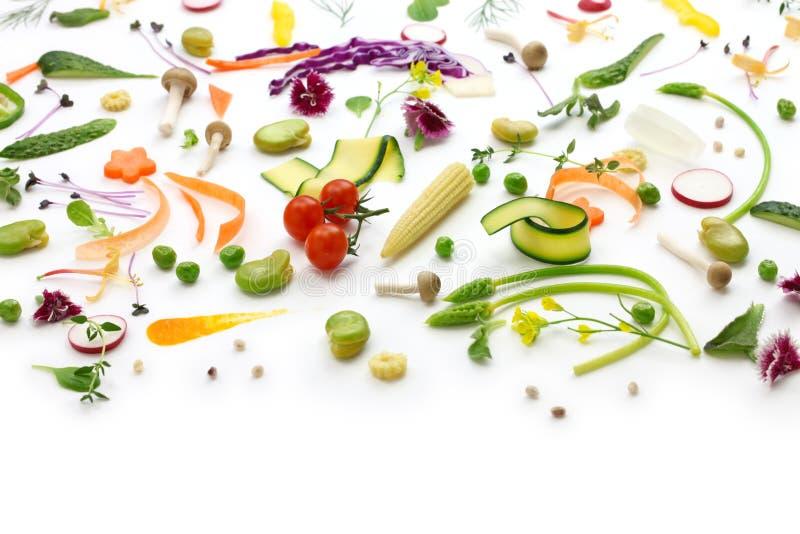 Legumes frescos da variedade fotos de stock