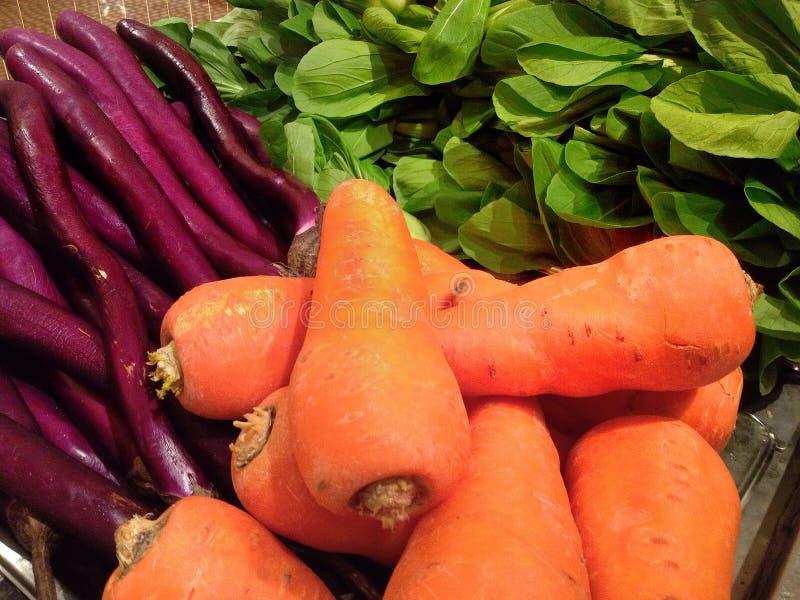 Legumes frescos do mercado fotos de stock royalty free