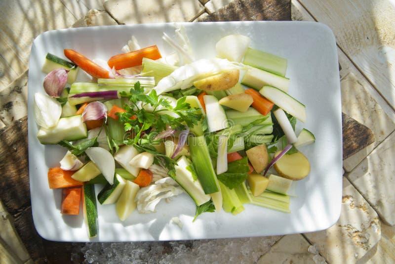 Legumes misturados para a sopa fotos de stock royalty free