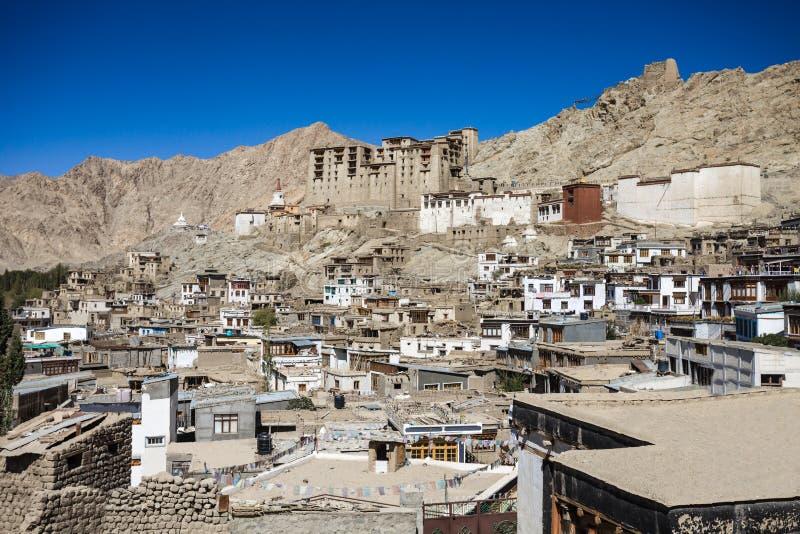 Leh, Ladakh,印度 图库摄影