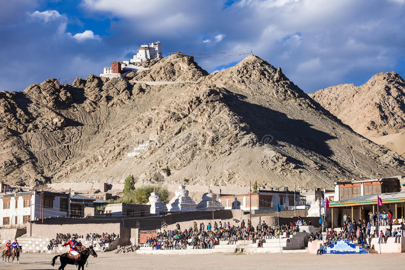 Leh, Ladakh,印度 免版税库存图片