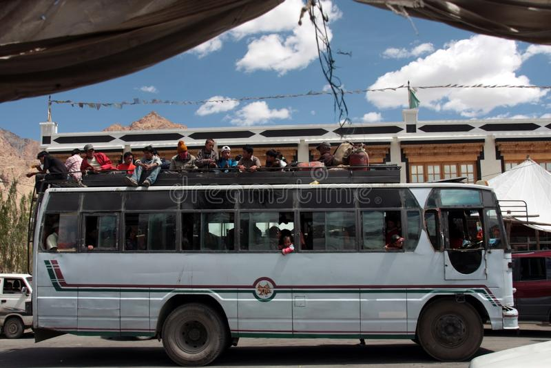 leh προσκυνητές στο ταξίδι στοκ φωτογραφίες