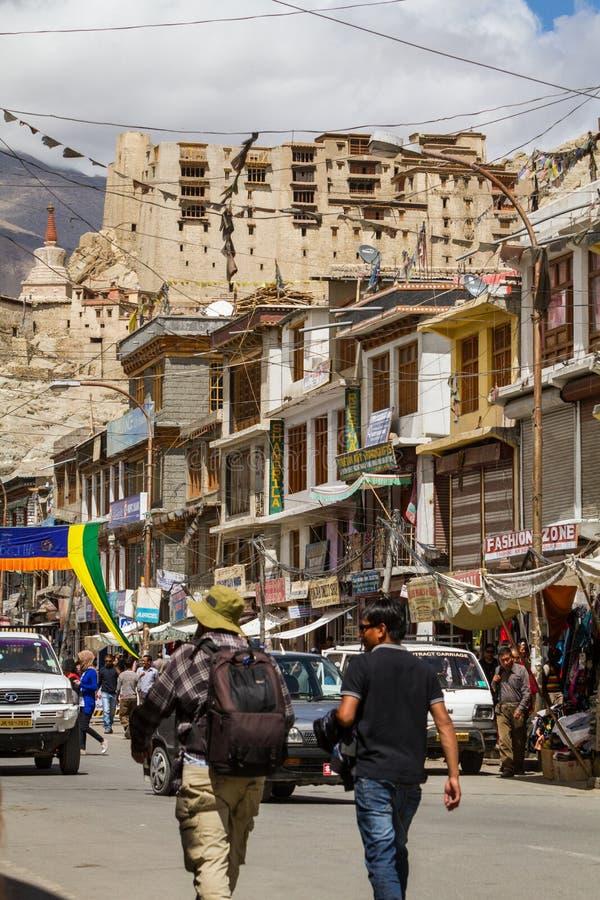 LEH, ИНДИЯ 3-ЬЕ СЕНТЯБРЯ: Ladakh People3, 2011 в Leh, Индия В стоковое изображение rf