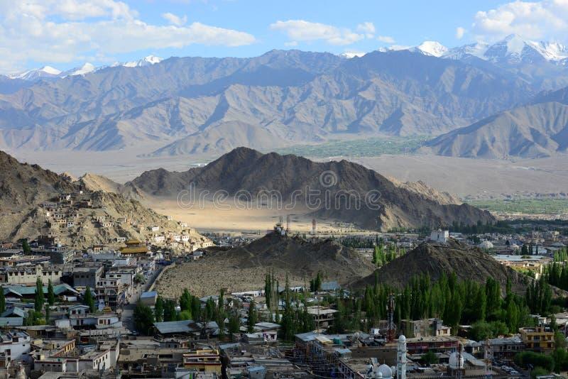 Leh en Ladakh, la India septentrional fotos de archivo libres de regalías