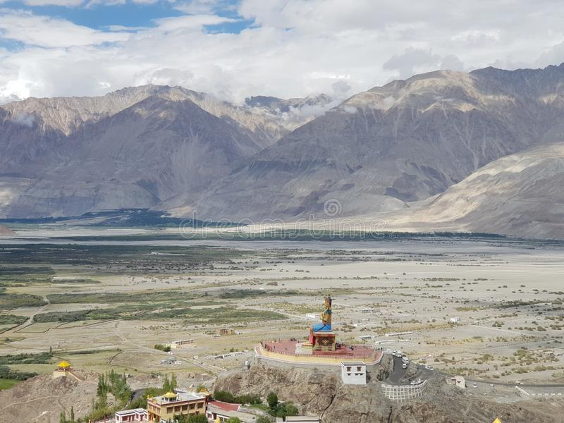 Leh in India royalty free stock images