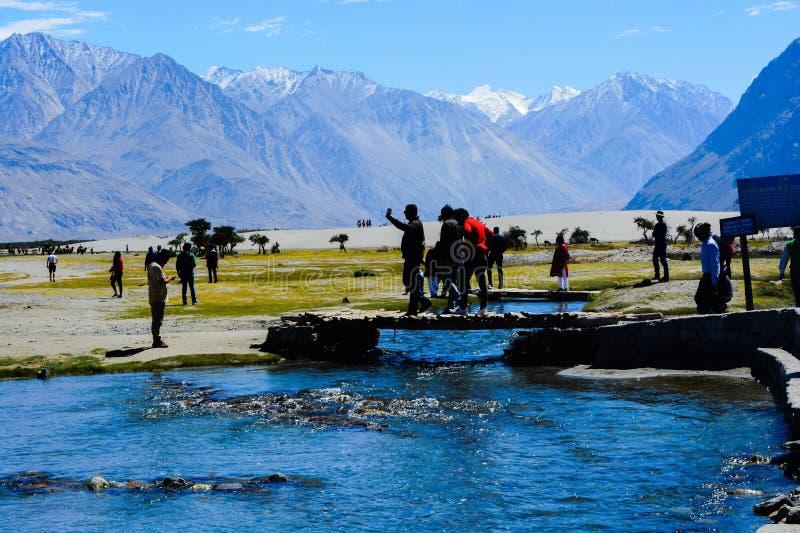 Leh, Ladakh immagini stock libere da diritti