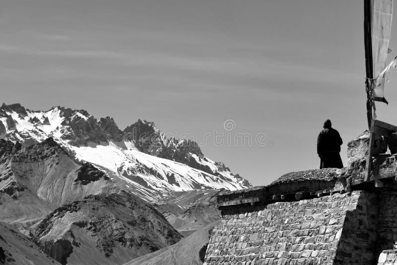 Leh, Ladakh royalty-vrije stock afbeelding