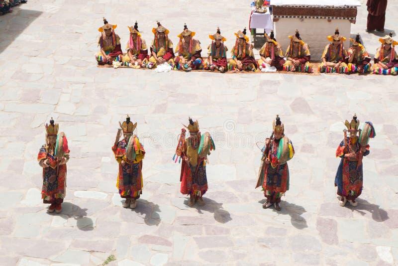 Download Leh Ladakh, La India - Julio 7,2014: Mucha Gente Va Al Festival De Hemis Fotografía editorial - Imagen de salud, buddhism: 64213022
