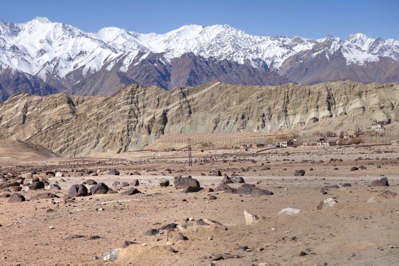 Leh, Ladakh landscape royalty free stock image