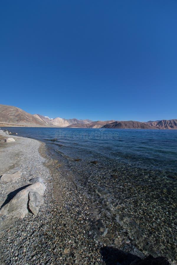 Leh Ladakh landskap fotografering för bildbyråer
