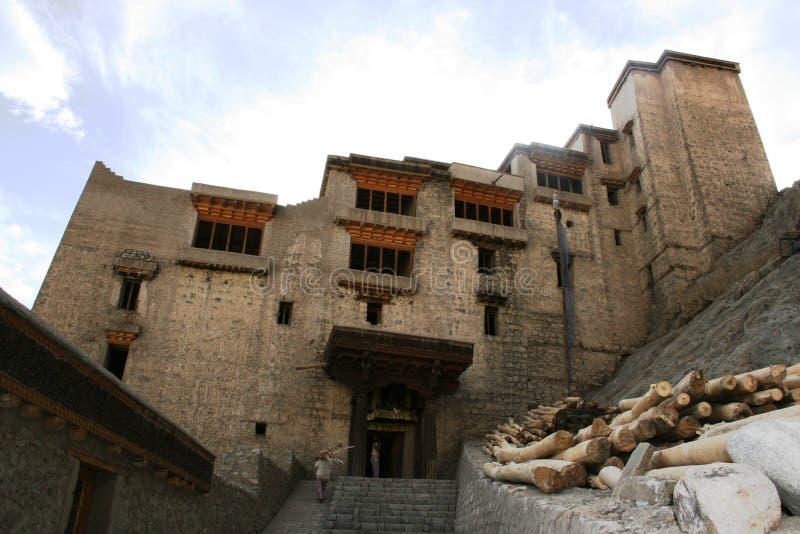 Leh Palace stock photography