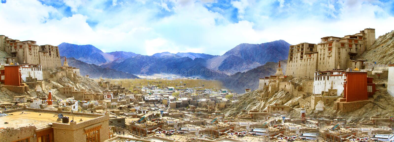 Download Leh palace stock image. Image of palace, buddhism, view - 26338149