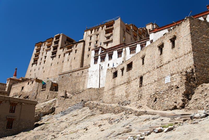 Leh Palace - Ladakh - India stock image