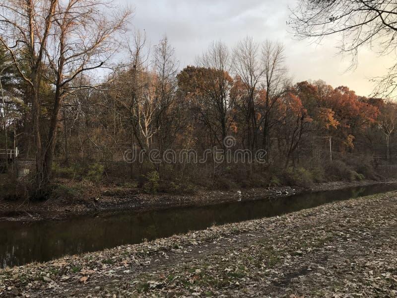 Lehigh-Kanal und Schleppseileid, Easton Pennsylvania USA lizenzfreie stockfotos