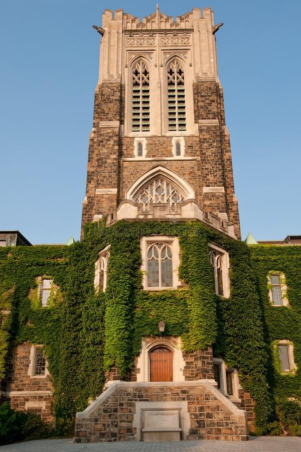 Lehigh uniwersytet, PA zdjęcie stock