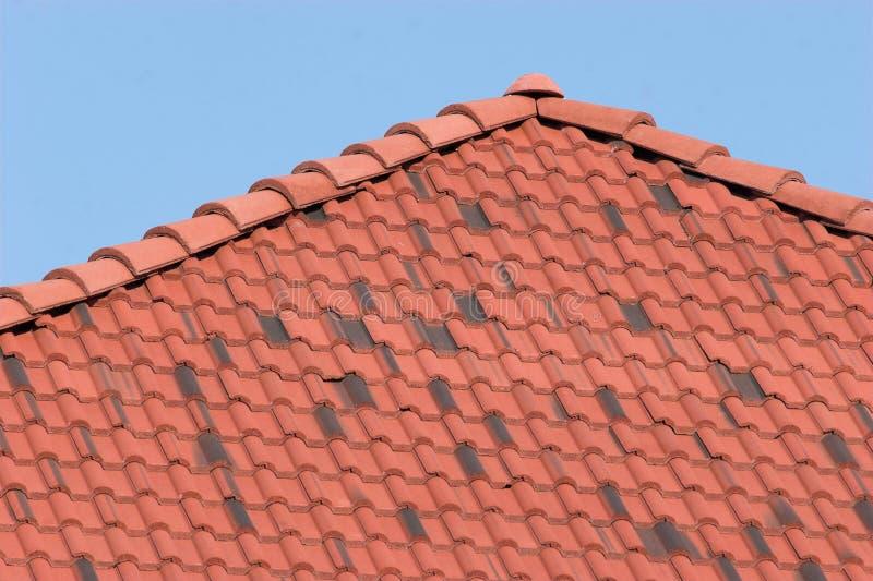 Lehm-Dach lizenzfreie stockbilder