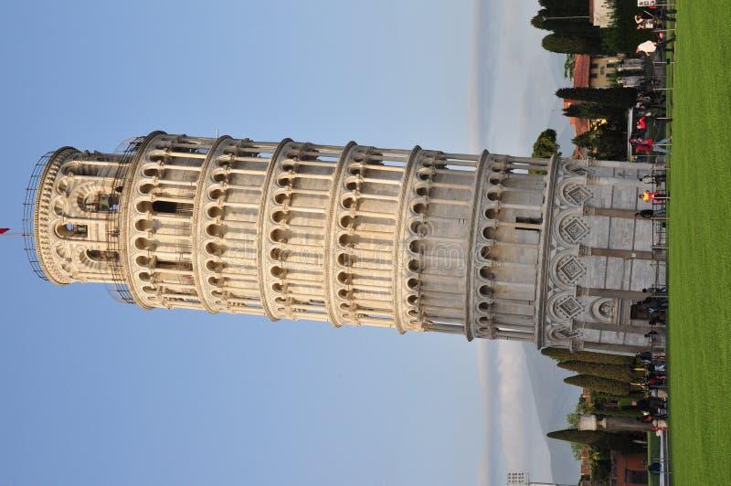 Lehnender Turm von Pisa stockfotos