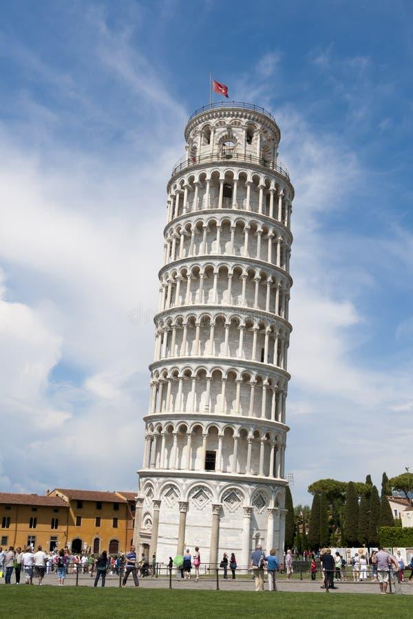 Lehnender Turm von Pisa lizenzfreie stockbilder
