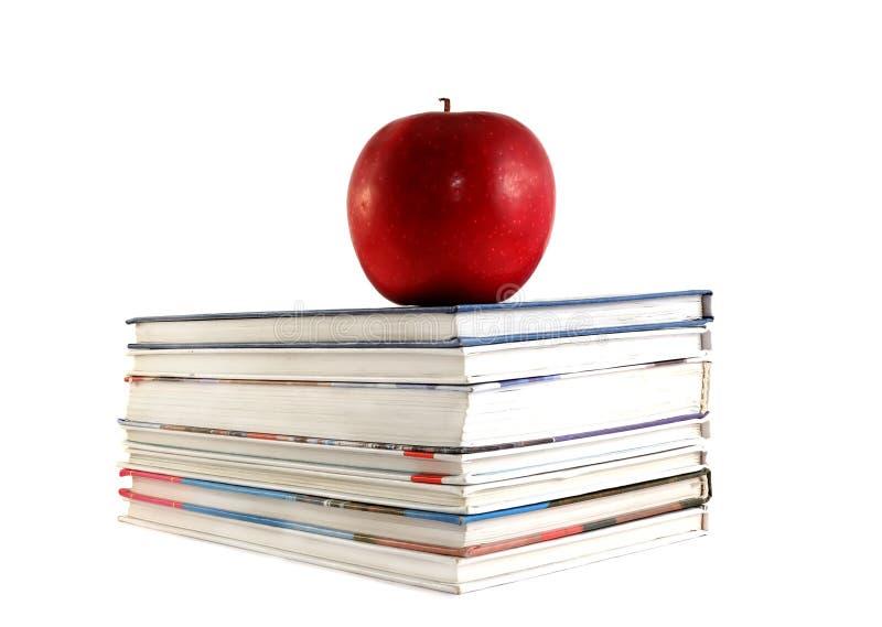 Lehrbücher lizenzfreie stockfotos
