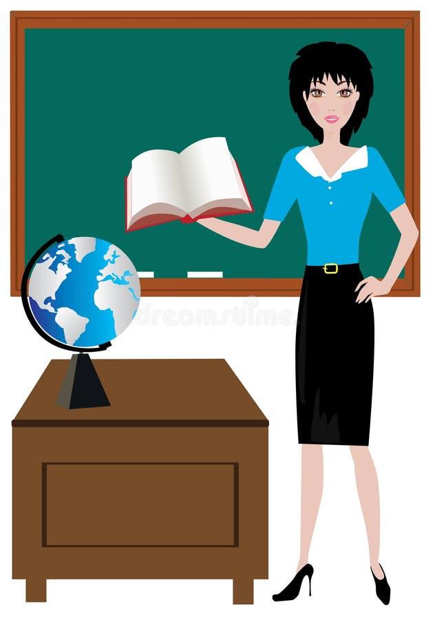 Lehrer stock abbildung