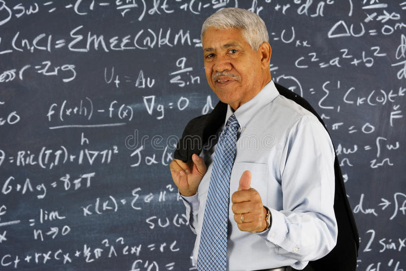 Lehrer lizenzfreie stockfotos