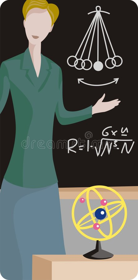 Lehrer-Abbildung-Serie vektor abbildung
