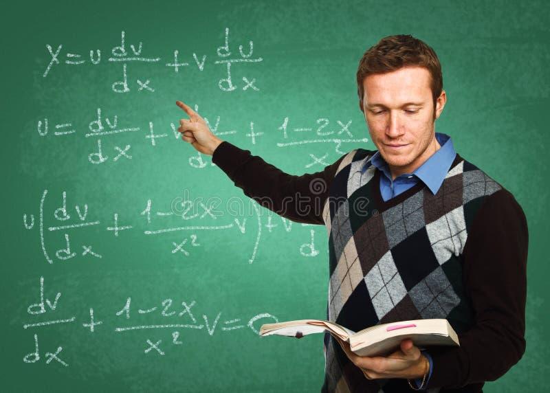 Lehrer bei der Arbeit
