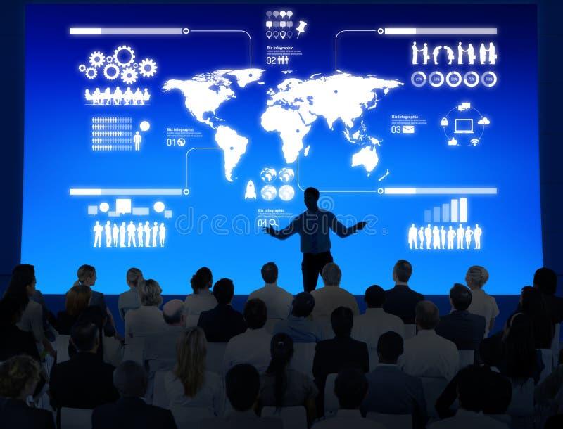 Lehrer Teaching International Relations themenorientiert stockfoto
