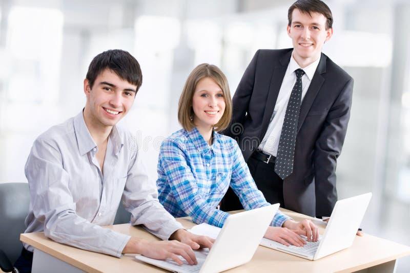 Lehrer und Studenten lizenzfreie stockbilder