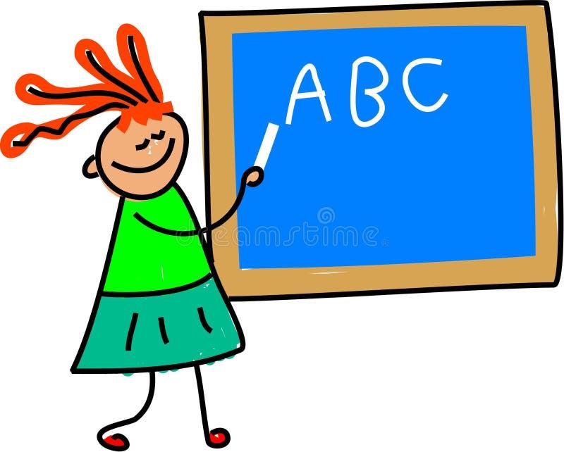 Lehrerkind lizenzfreie abbildung