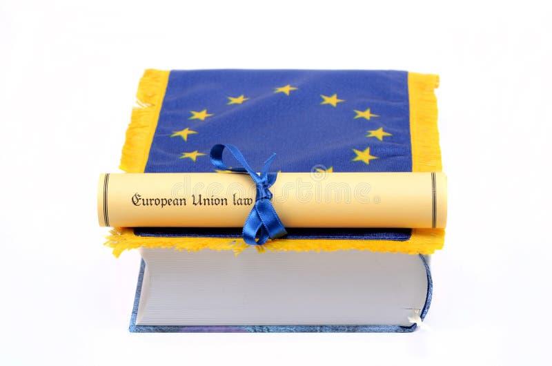 Lei da União Europeia imagens de stock royalty free